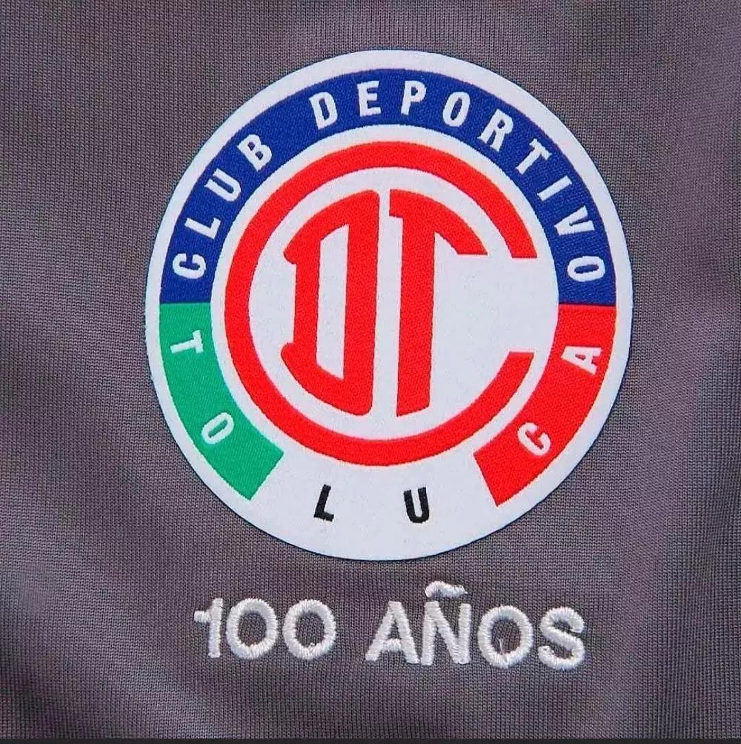 Jersey Toluca Centenario Gris  1b0e1711ce80d
