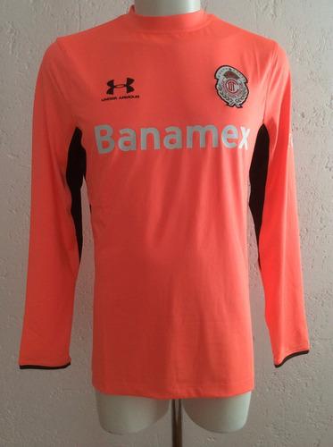 jersey toluca portero rosa temporada 2014-2015 under armour