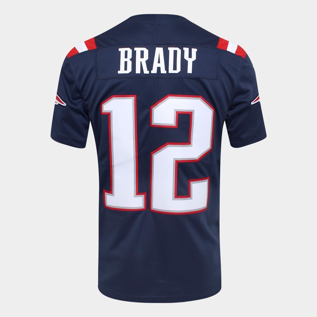 2355fbb16f5 Jersey Tom Brady Nike Nfl Color Rush New England Patriots ...