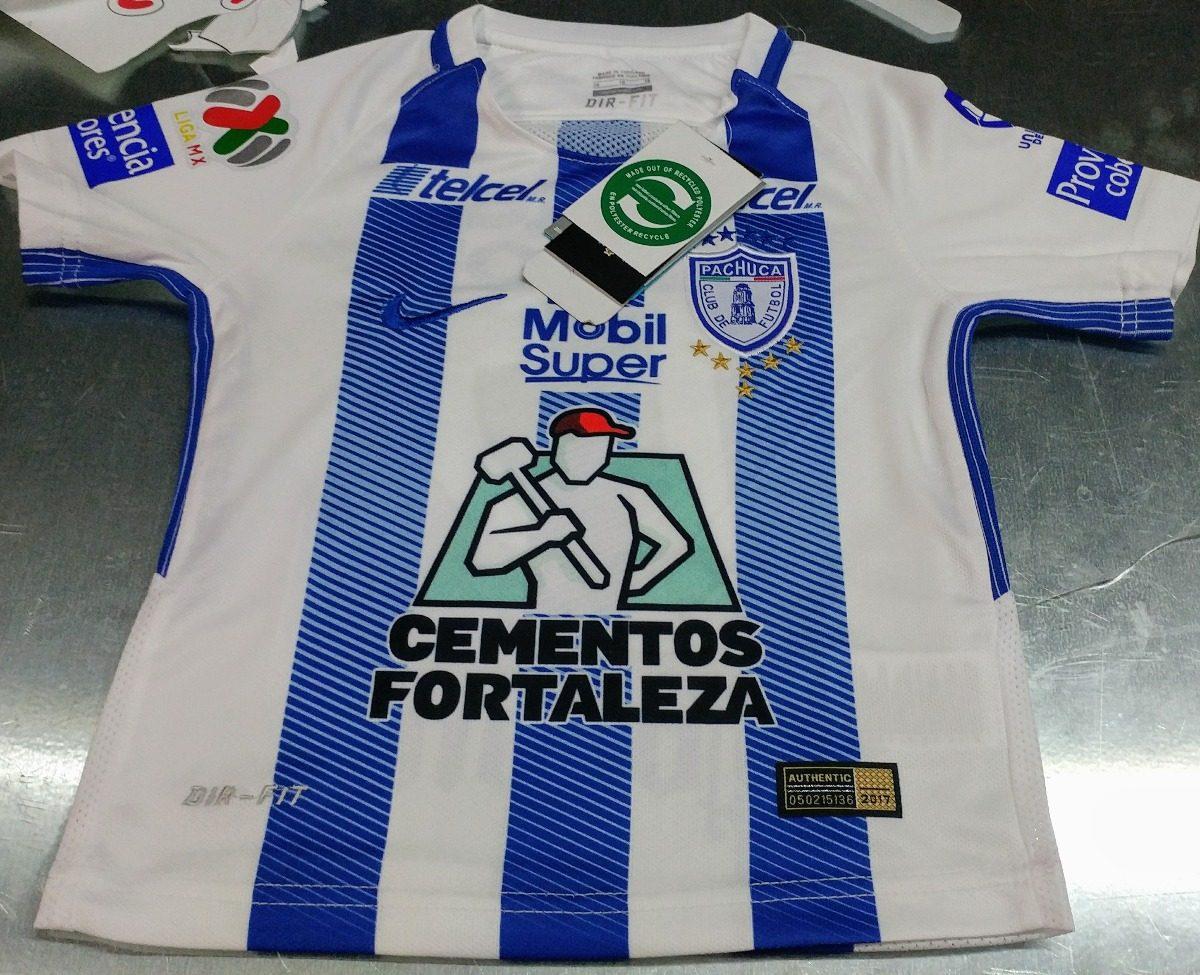 7f232b93a6671 jersey tuzos camiseta nike niño playera pachuca 2017-2018. Cargando zoom.