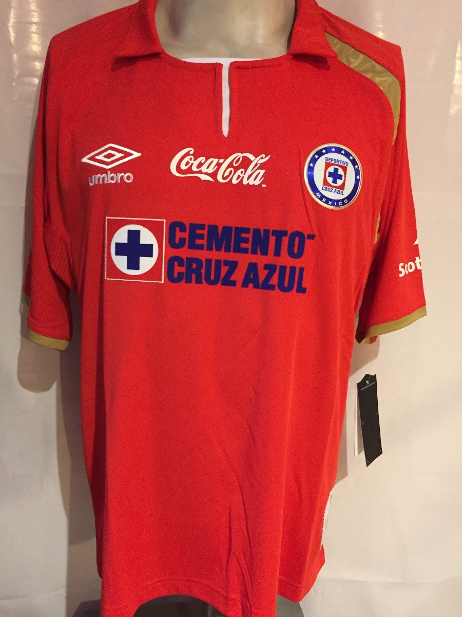574f5c30c60 jersey umbro la maquina de cruz azul roja de gala 50 años. Cargando zoom.