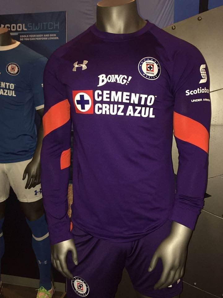 jersey under armour portero fútbol cruz azul chuy corona 1. Cargando zoom. d09995d5fcb7a