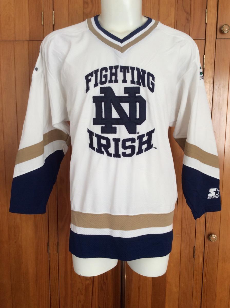 sneakers for cheap f72e0 88a78 jersey universidad notre dame fighting irish hockey starter. Cargando zoom.