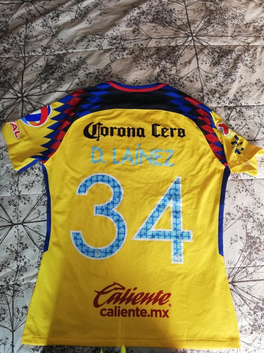 brand new 4e81e c4315 Jersey Utileria Club America Diego Lainez