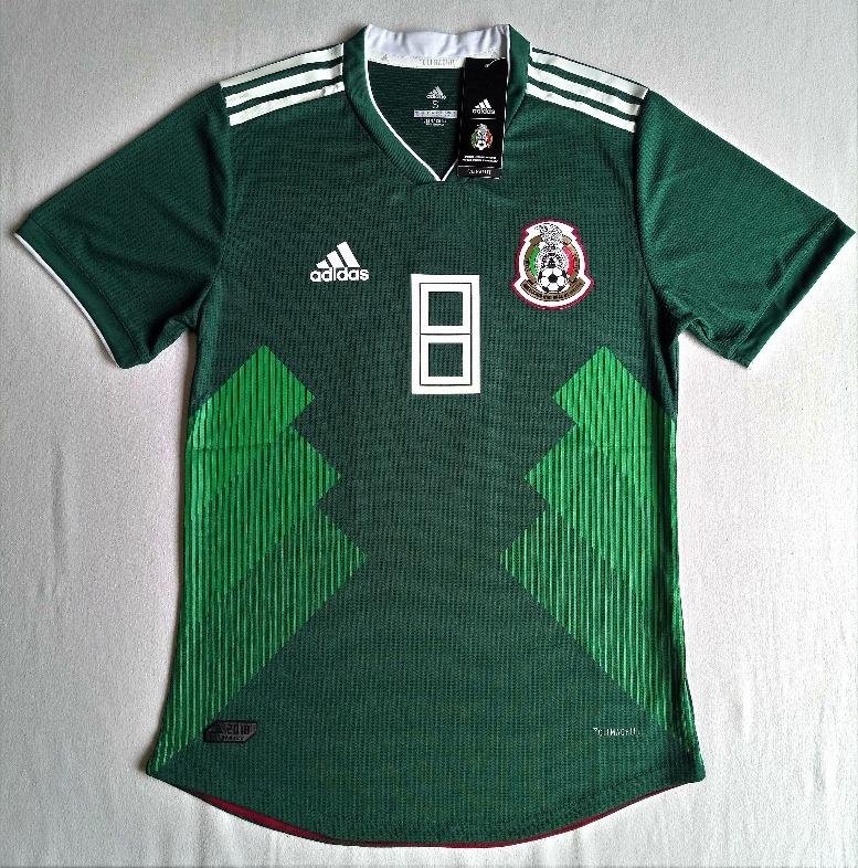 72f4985294178 Jersey Verde Seleccion Mexicana 2018 Versión Jugador -   849.00 en ...