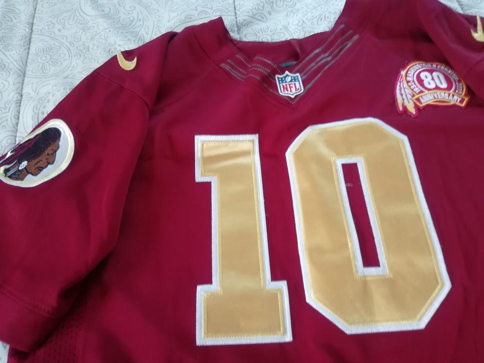 official photos cec2c dd3b7 Jersey Washington Redskins Retro Nike #10 Griffin Iii T44