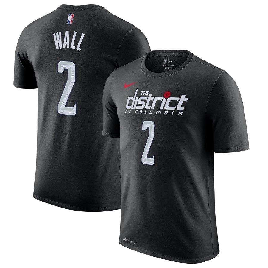 new product 92e9f 83cd4 Jersey Washington Wizards John Wall Nike Black 2018/19 City