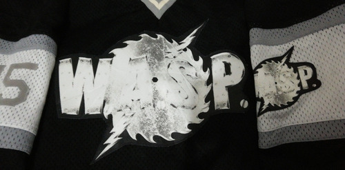 jersey wasp hockey firmado blackie lawless