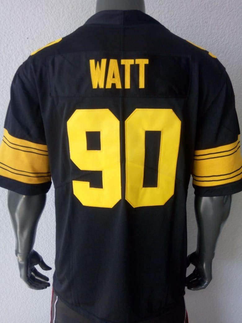 official photos b5277 c3f6f Jersey Watt Pittsburgh Steelers Talla Grande Hombre Rush