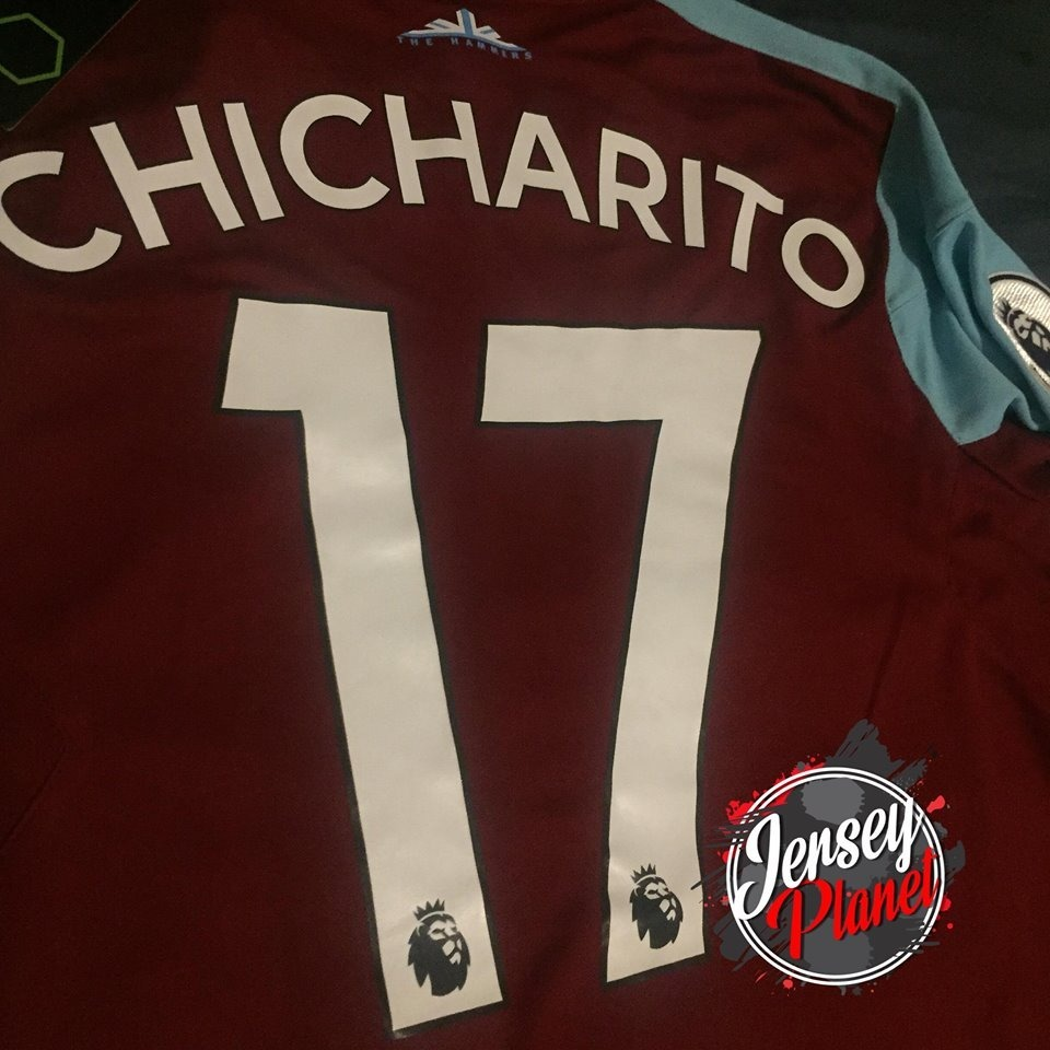 los angeles db63d af50f Jersey West Ham United Local Chicharito