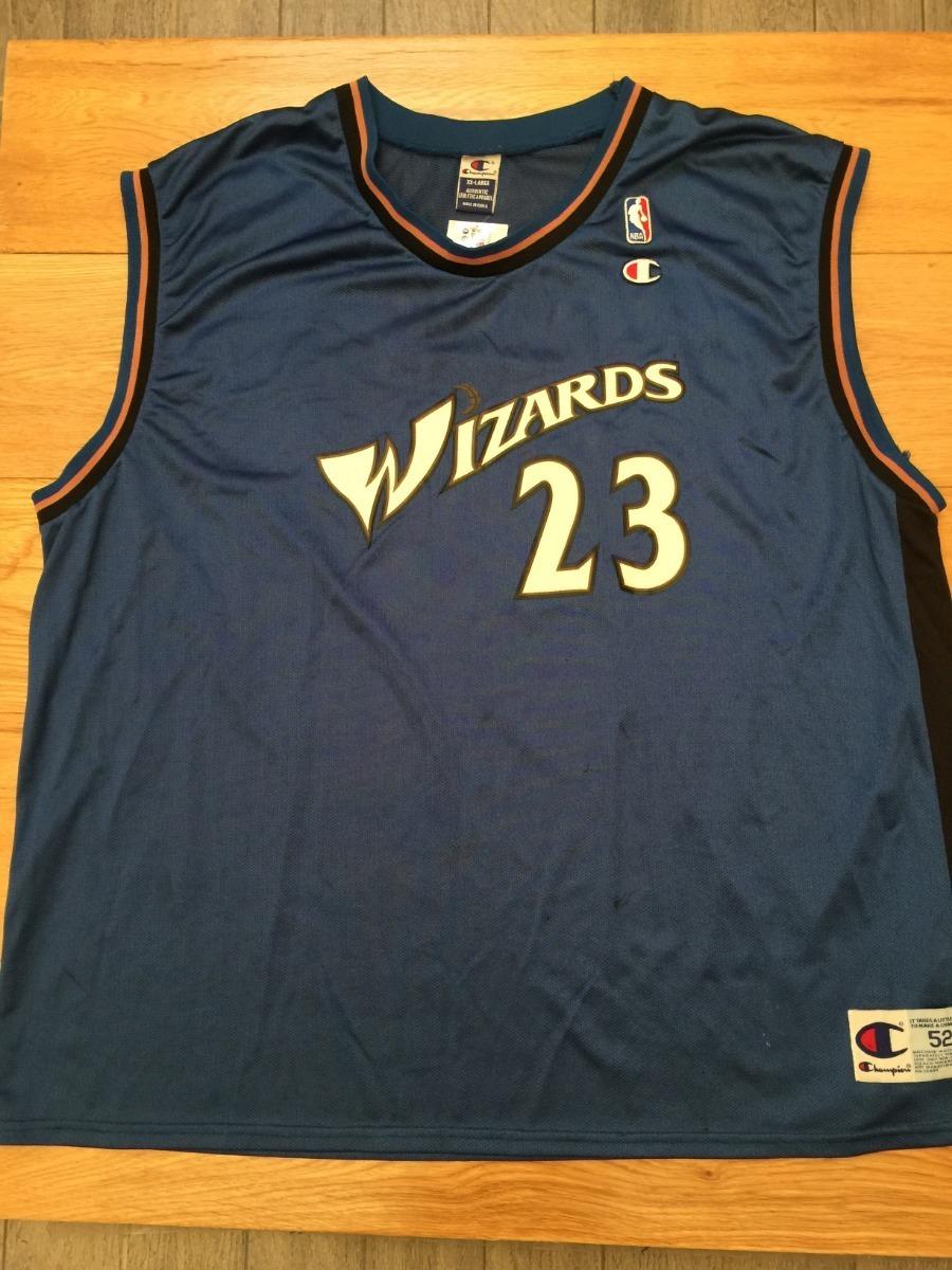 meet 6ef07 cbdf7 Jersey Wizards Michael Jordan 45 Champion - $ 589.00