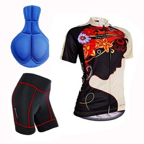 Jersey Y Short Para Dama Tallas S-m-l-xl-xxl Para Ciclismo - U S ... d073cdd73621