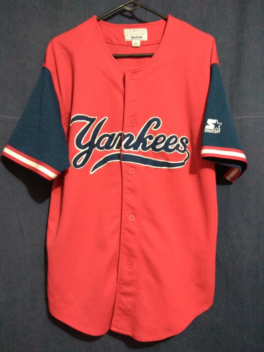 huge selection of 27183 71c84 Jersey Yankees Talla L Starter