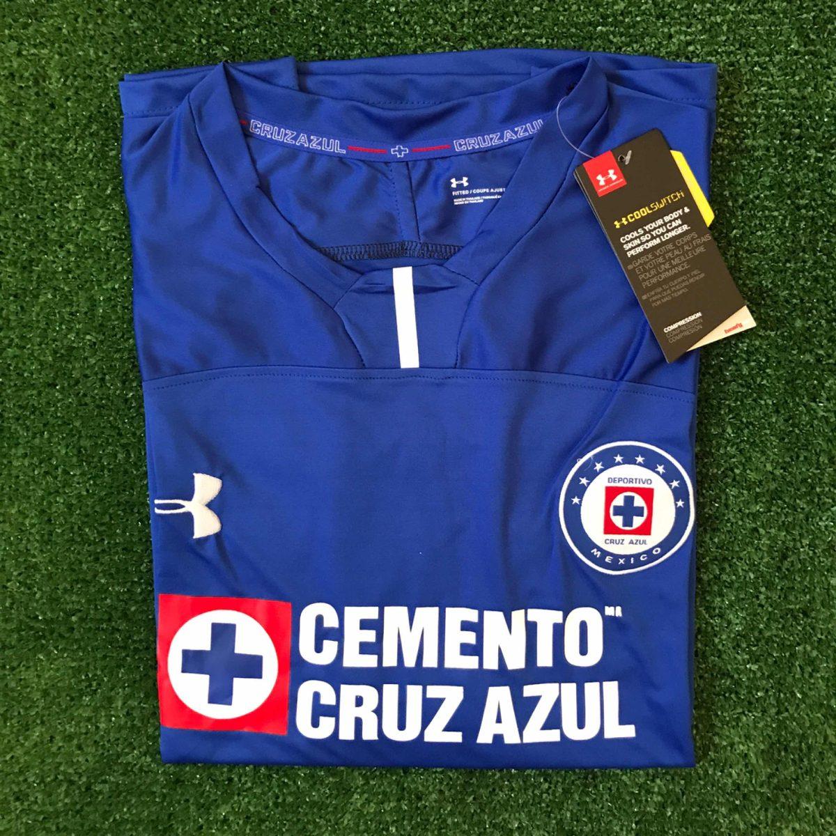 555102ded Jersey playera - Cruz Azul 18 19 (local) -   490.00 en Mercado Libre