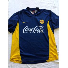 31b55bf845575 Jersey Playera Aguilas Del America 2000 Talla M Visita Nike