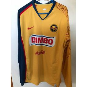 1455ce3dd4946 Jersey Aguilas America Manga Larga Nike 2007