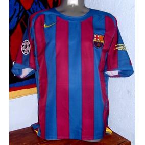 4d4b37996fa75 Playera De Ronaldinho Barcelona 2006 en Mercado Libre México