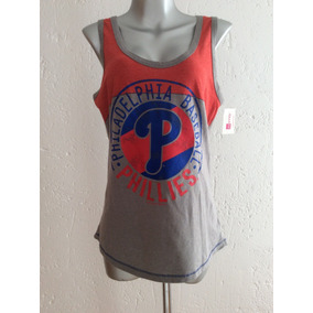 6c4457136ee8a Blusa Philadelphia Phillies Dama Mujer Tank Top Baseball Mlb