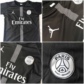 4d3c29072 Playera Jersey Camisa Psg Jordan Visita 2018-2019 Negra