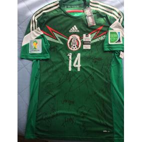 0cff42fda Playera Autografiada X La Seleccion Mexicana en Mercado Libre México
