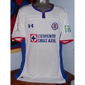 f3ac958dc259e Jersey Cruz Azul Mundial Clubes Blanco - Jerseys de Fútbol en Mercado Libre  México