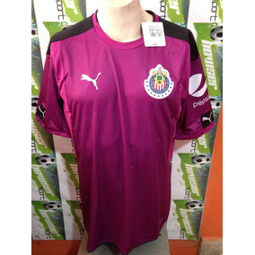 e97fe729295b8 Jersey Chivas De Guadalajara Puma 100%original 2017 Portero