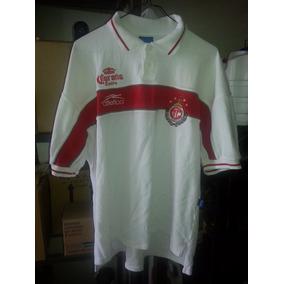 6b2745fe8a5c0 Jersey Playera Diablos Rojos Toluca Año 1999-2000 Mediana
