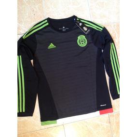 ae30bed7d004b Jersey Adidas De Mexico Negra Hombre en Mercado Libre México