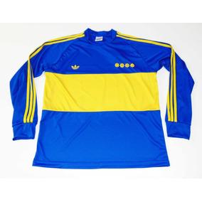9912b64e5de94 Jersey Boca Juniors Maradona 1981 Retro Argentina Napoli