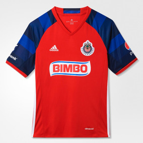 56439df16a7 Playera Jersey adidas Chivas De Guadalajara Visita Roja