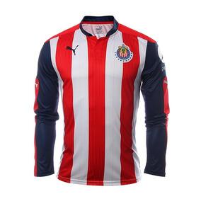 8d4694cf36281 Playera Jersey Puma De Chivas Del Guadalajara Manga Larga
