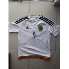 e2b5256828c2e Jersey Seleccion Mexicana Raul Jimenez Niño Usada