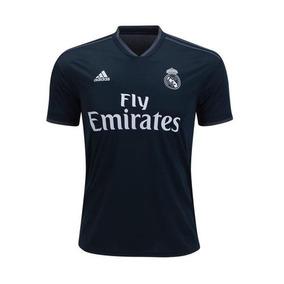 2e5b07a49e41d Jersey Real Madrid Azul 2019 Hombre Manga Larga en Mercado Libre México