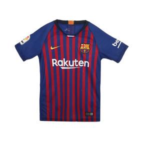 0f258045e68e6 Playera Nike Del Barcelona Tipografia De Messi en Mercado Libre México