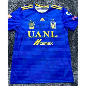4ad9cbf7f3ae2 Camiseta De Tigres Autografiada en Mercado Libre México
