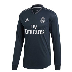 bcd5e6b9789c4 Playera Real Madrid Visita Manga Larga 2018 2019 adidas