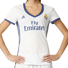 4adc9c64c63e6 Jersey Local Real Madrid 16 17 Mujer adidas Full Ai5188