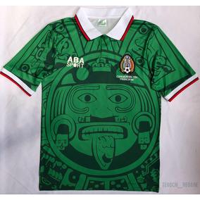 22c41da8343b1 Playera De Mexico De Francia 98 en Mercado Libre México