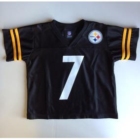9de403959b72b Camiseta Jersey Niño Steelers Roethlisberger Original Nfl