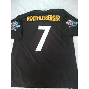 a814e714baa04 Jersey De Los Steelers Talla L Super Bowl Xl2006 Detroit Nfl