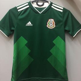 1b3f5206b7fd9 Playera Seleccion Mexicana Infantil en Mercado Libre México
