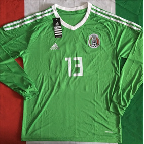 7ea11ca59596a Increible Jersey Mexico Portero Memo Ochoa 13 Manga Larga