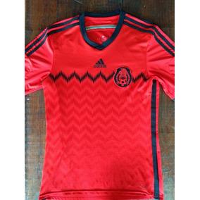 5d7c7e2298b7e Camiseta Mexico Naranja en Mercado Libre México