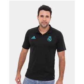 79fa017c0802e Playera Polo Blanca Real Madrid - Jerseys de Fútbol en Mercado Libre México