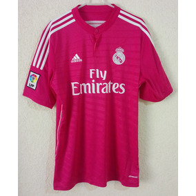 9348a1c5a3d7b Real Madrid Rosa - Jerseys Clubes Europeos Clubes Españoles Real Madrid en Mercado  Libre México