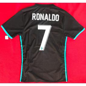 11d6bd458e0bb Jersey Real Madrid Negra Ronaldo en Mercado Libre México