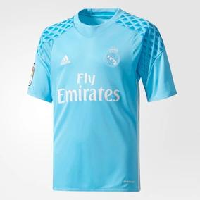 9f928e0636430 Jersey Playera Niño Real Madrid Portero 2016 Original