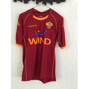 36ddd236b9868 Jersey Roma As Roma Kappa Vino 2008 - 2009 M