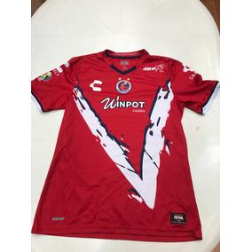 8faa36a1fd265 Playera Tiburones Rojos Del Veracruz Usada Por Jugador Usado en ...