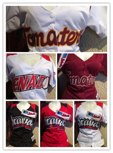 jerseys y playeras de dos botones de equipos de besibol